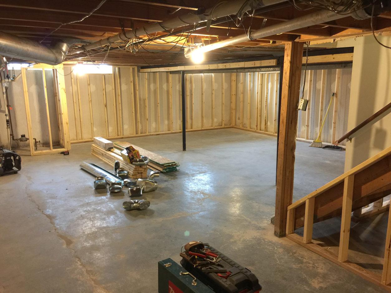 Basement Remodel Finished Basement K And K Remodeling Inc